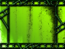 пленка для транспарантной съемки обрамляет зеленое фото Стоковое Фото