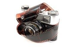 пленка камеры снимает старую Стоковые Изображения RF