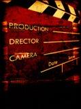 пленка clapboard старая Стоковые Фотографии RF