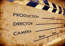 пленка clapboard старая Стоковое фото RF