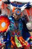 ПЛЕН-вау 2015 коренного американца Стоковые Фотографии RF