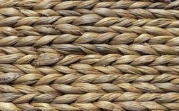 Плетеная корзина камышовой штанги Предпосылка от плетеной корзины стоковые изображения rf