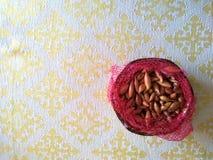 Плетеная стойка для шутих и хлеба стоковые изображения rf