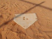 плита бейсбола домашняя Стоковое фото RF