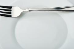 плита вилки Стоковое Изображение RF