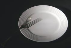плита вилки Стоковые Изображения RF