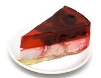 плита вишни торта стоковая фотография rf