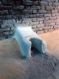 Плита домодельного традиционного индейца варя стоковая фотография rf