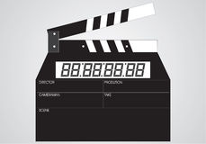 плита кино выполнения Стоковое Изображение