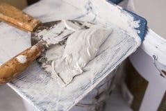Плита лопаткы и пластмассы Стоковые Изображения RF
