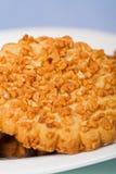 плита макроса печенья Стоковые Изображения