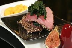 плита мяса Стоковая Фотография RF