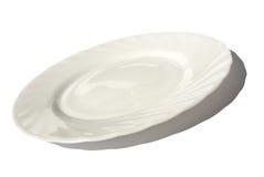 плита обеда пустая Стоковое фото RF