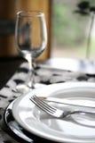 плита обеда Стоковое фото RF