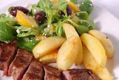 плита обеда Стоковая Фотография RF