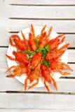 плита омаров Стоковые Изображения
