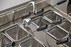 Плита пара электрическая Промышленное оборудование кухни catering стоковые фотографии rf