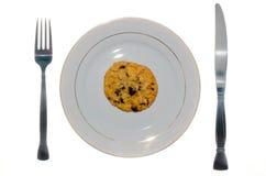 плита печенья Стоковые Фотографии RF