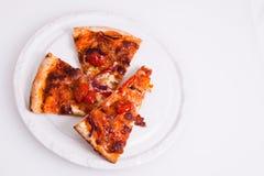 плита пиццы Стоковое фото RF