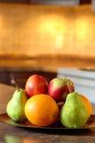 плита плодоовощ деревянная Стоковые Изображения RF