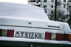 Плита Приднестровье автомобиля Pridnestrovian Стоковая Фотография