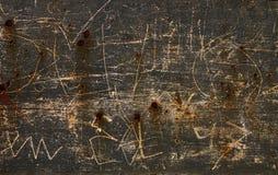 плита ржавая Стоковая Фотография RF