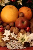 плита рождества стоковые изображения rf