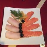 Плита рыб Стоковое Изображение