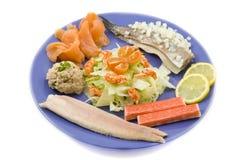плита рыб Стоковые Изображения