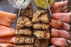 плита рыб Стоковое Изображение RF