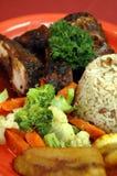 плита рывка 3 цыпленк Стоковое Изображение