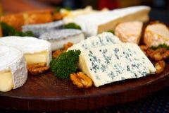 плита сыра Стоковое Изображение