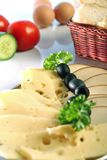 плита сыра Стоковые Изображения