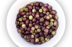 Плита треснутых оливок Стоковая Фотография RF
