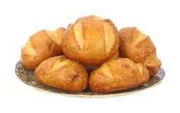 плита хлеба свертывает сбор винограда Стоковое Фото