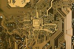 плита цепи электронная Стоковое фото RF