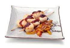 плита японии еды горячая Стоковые Изображения
