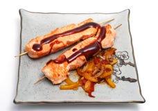 плита японии еды горячая Стоковые Изображения RF