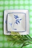 плита японца тарелки Стоковое Фото