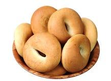 плита bagels Стоковые Фотографии RF