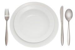 плита cutlery Стоковая Фотография RF