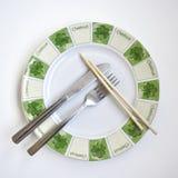 плита international обеда расположения стоковые изображения