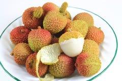 плита lychee стоковое фото rf