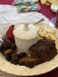 Плита Rosh Hashanah Стоковое Изображение RF