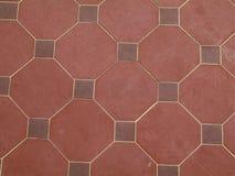 плитка красного цвета картины Стоковое Фото