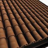 плитка крыши Стоковые Фото