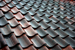 плитка крыши Стоковое Фото