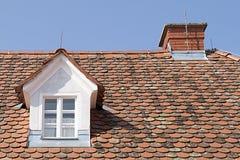 плитка крыши Стоковая Фотография
