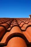 плитка крыши Стоковое фото RF