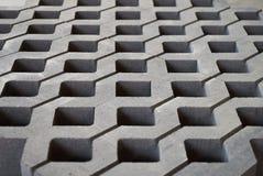 Плитка лужайки в фабрике цемента Стоковые Фотографии RF